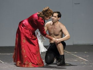 Gruberova and Ismael Jordi in Lucrezia Borgia at the Bayerische Staatsoper