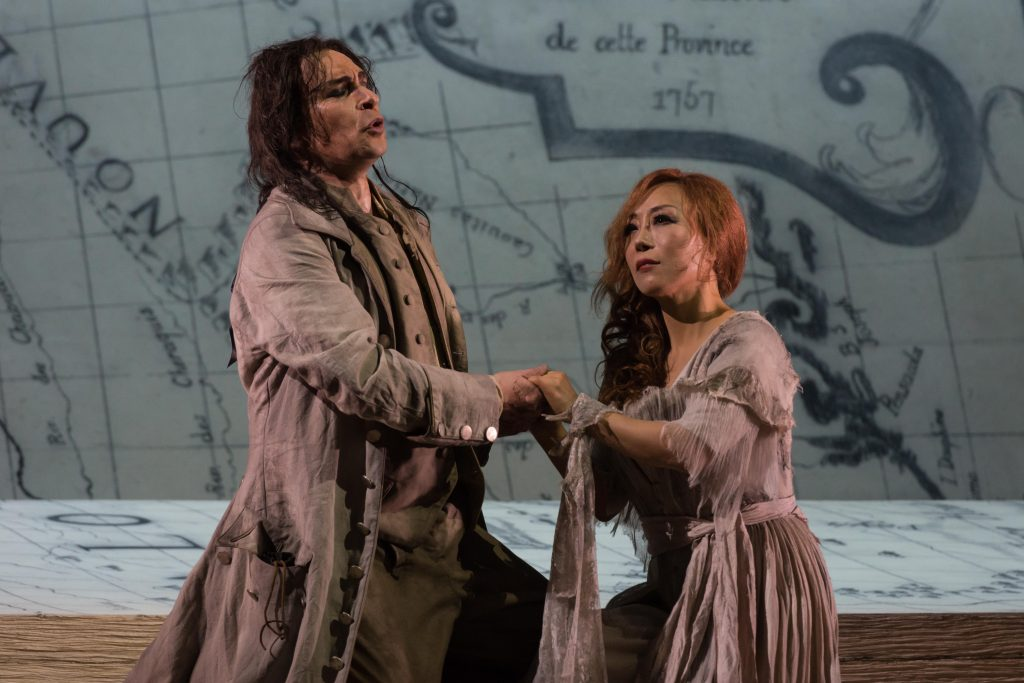 Auber Manon Lescaut Des Grieux and Manon Lescaut in Louisiana